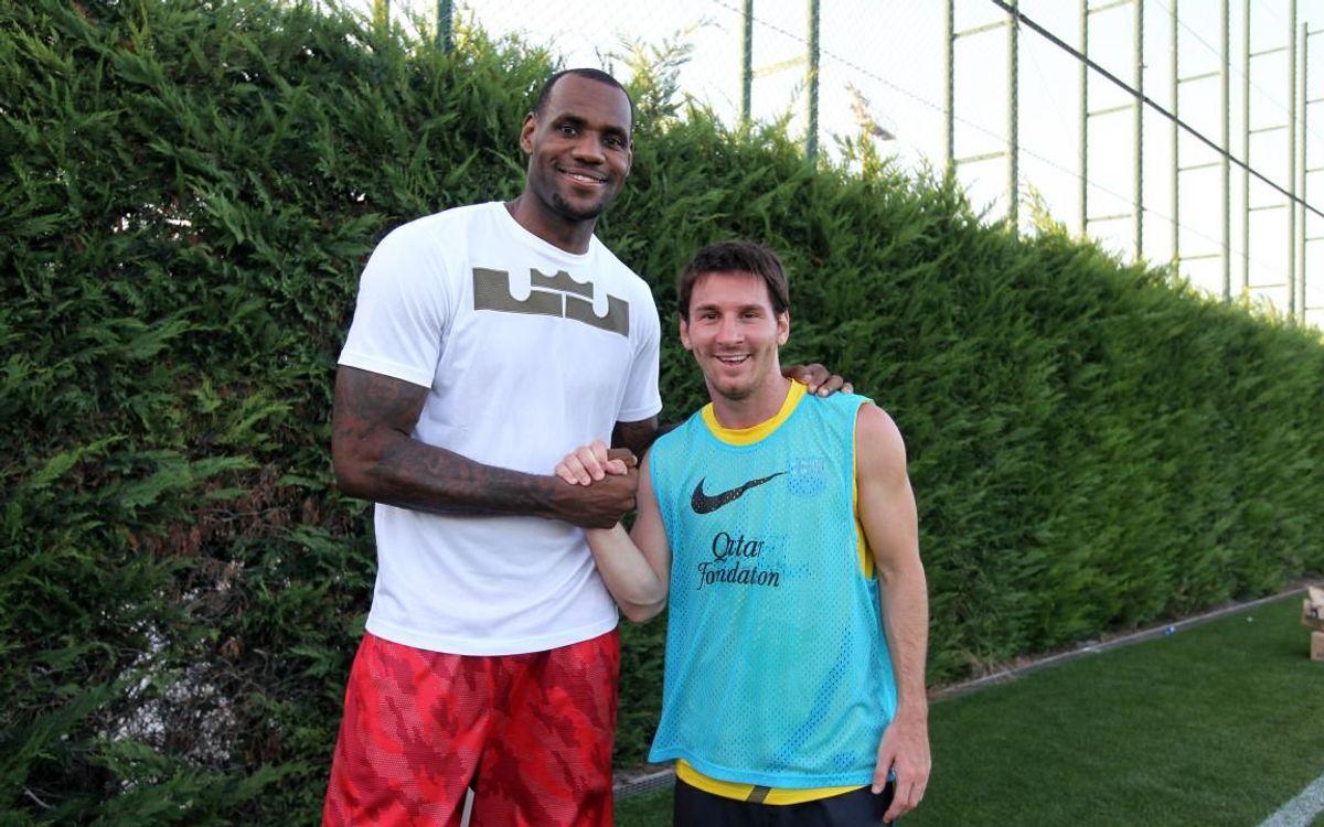 Lebron James y Leo Messi, dos leyendas del deporte en la última década
