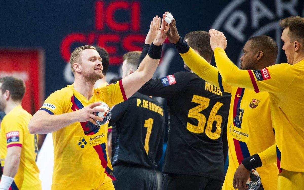 El Barça rompe el fortín parisino