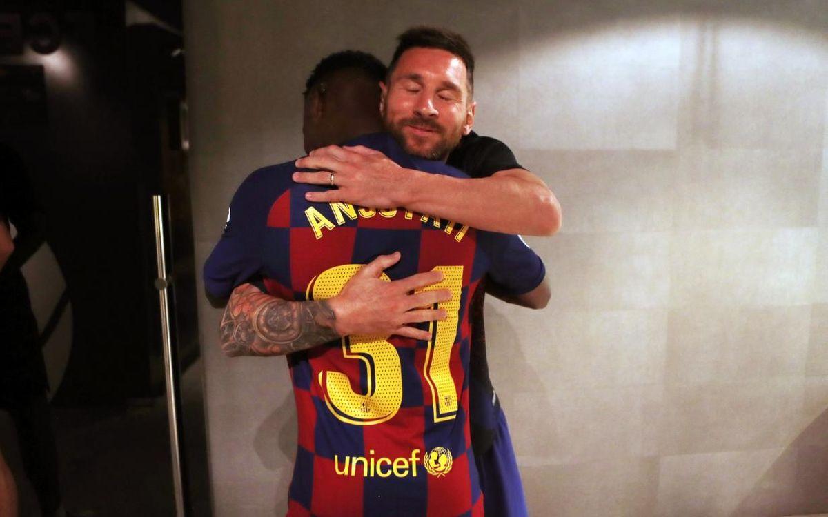 Leo Messi & Ansu Fati