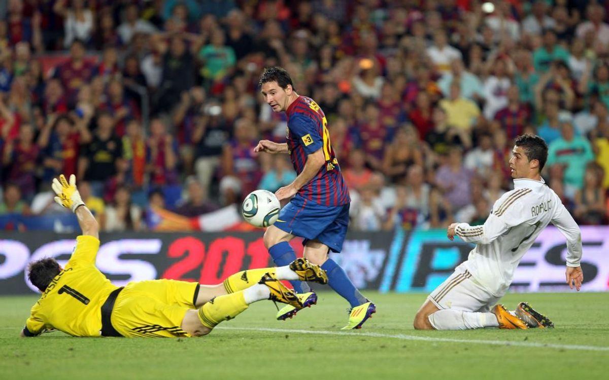 メッシにとって、レアル・マドリードは26ゴールをマークしているお気に入りのチーム