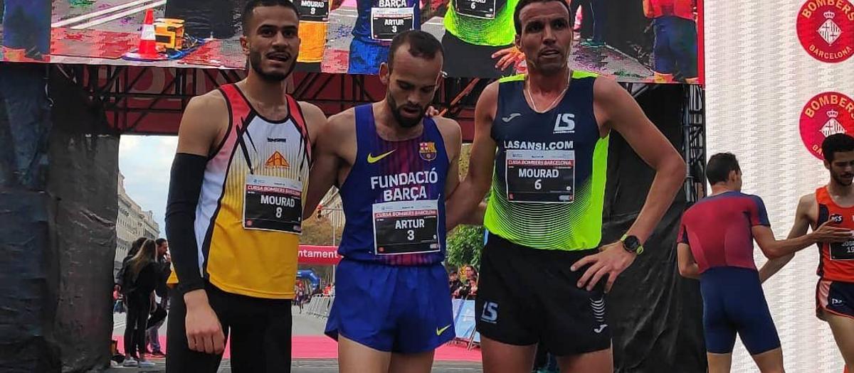 Bossy gana la carrera de los Bomberos; Galimany, segunda en Valencia