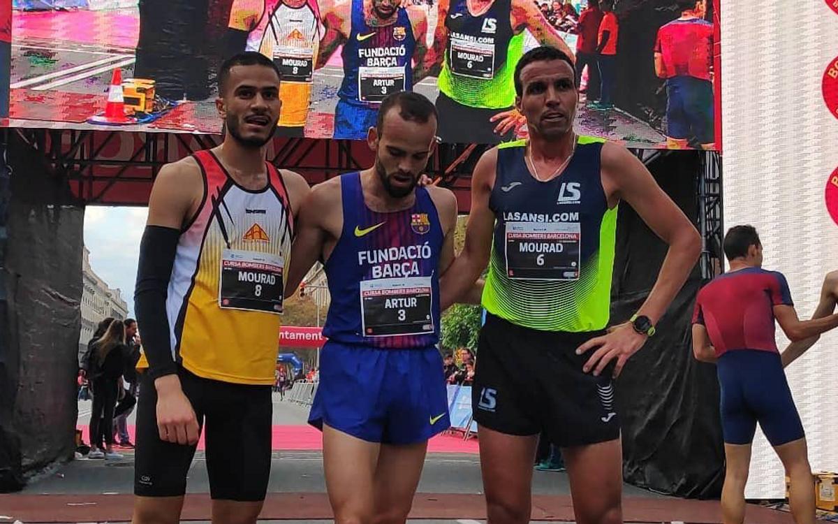Bossy guanya la cursa dels Bombers; Galimany, segona a València