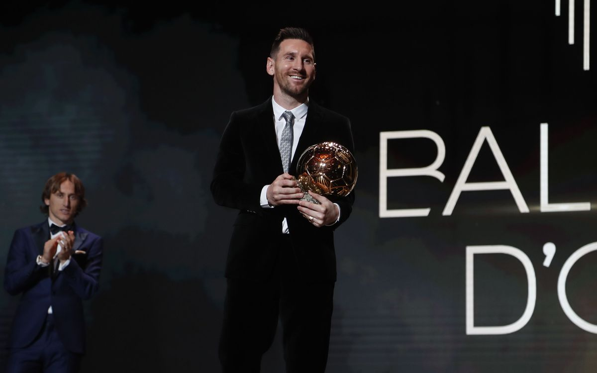 Messi a remporté le Trophée The Best 2019 | PHOTO: MIGUEL RUIZ