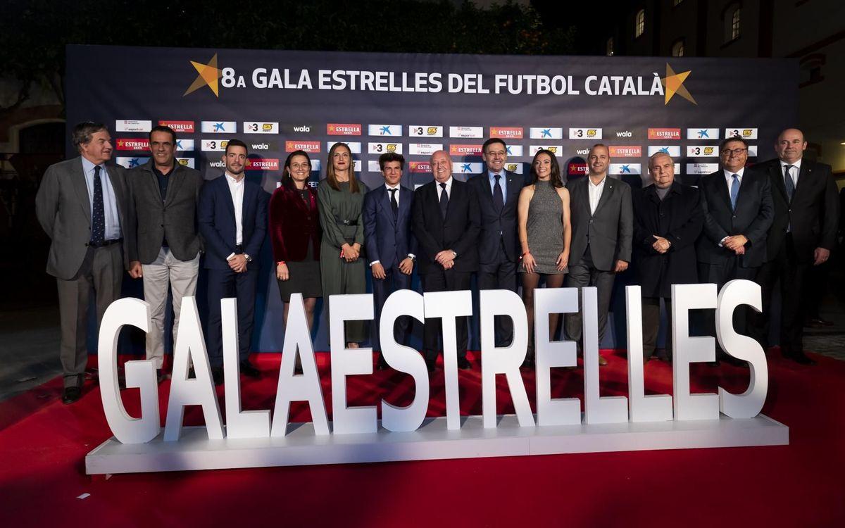 El FC Barcelona, protagonista de la Gala de les Estrelles del Futbol Català