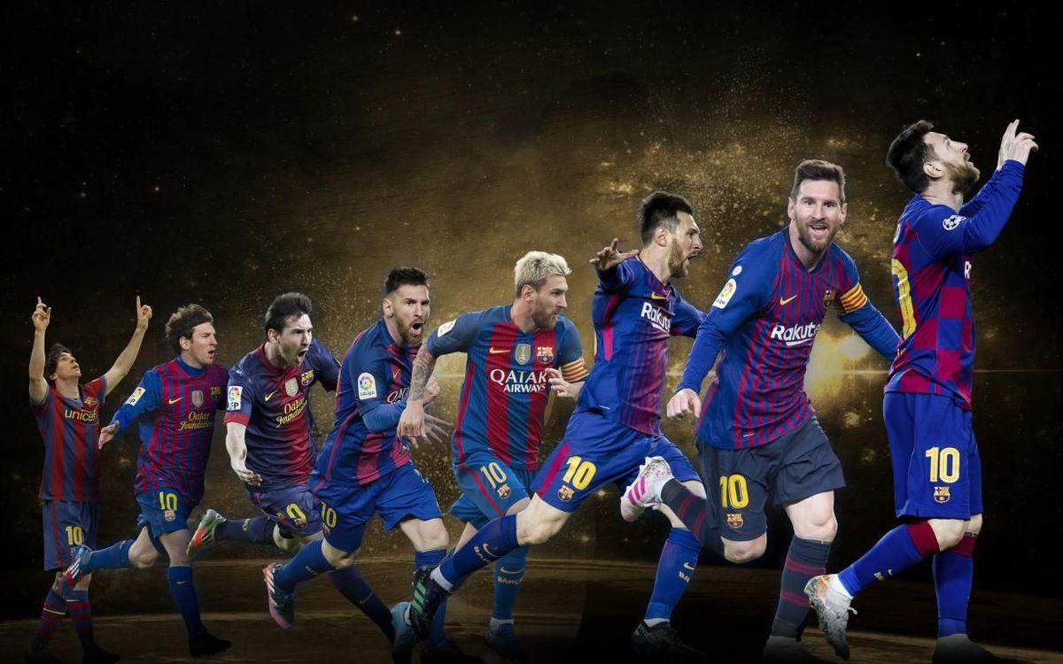 Com ha canviat Messi de la primera a la sisena Pilota d'Or?