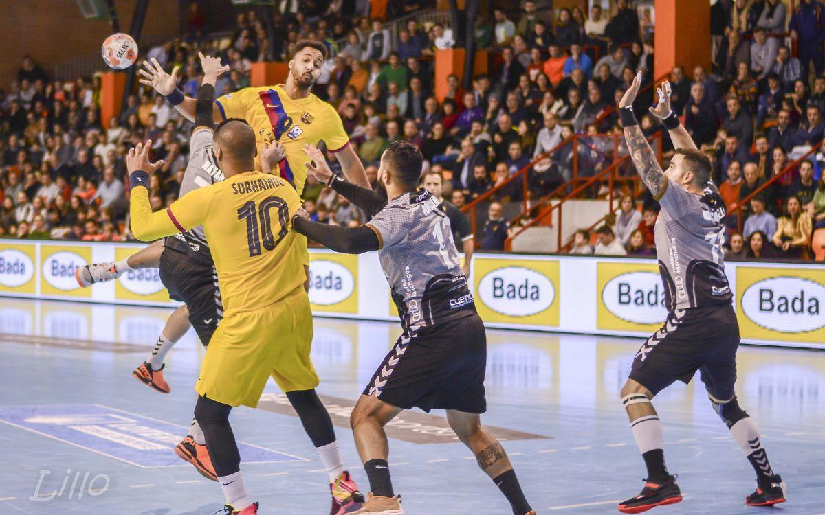 Liberbank Cuenca 28-39 Barça: Powering to victory