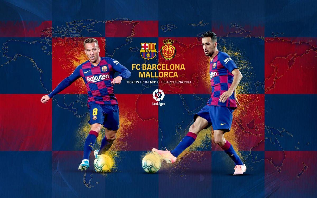 Où et quand voir Barça - Majorque