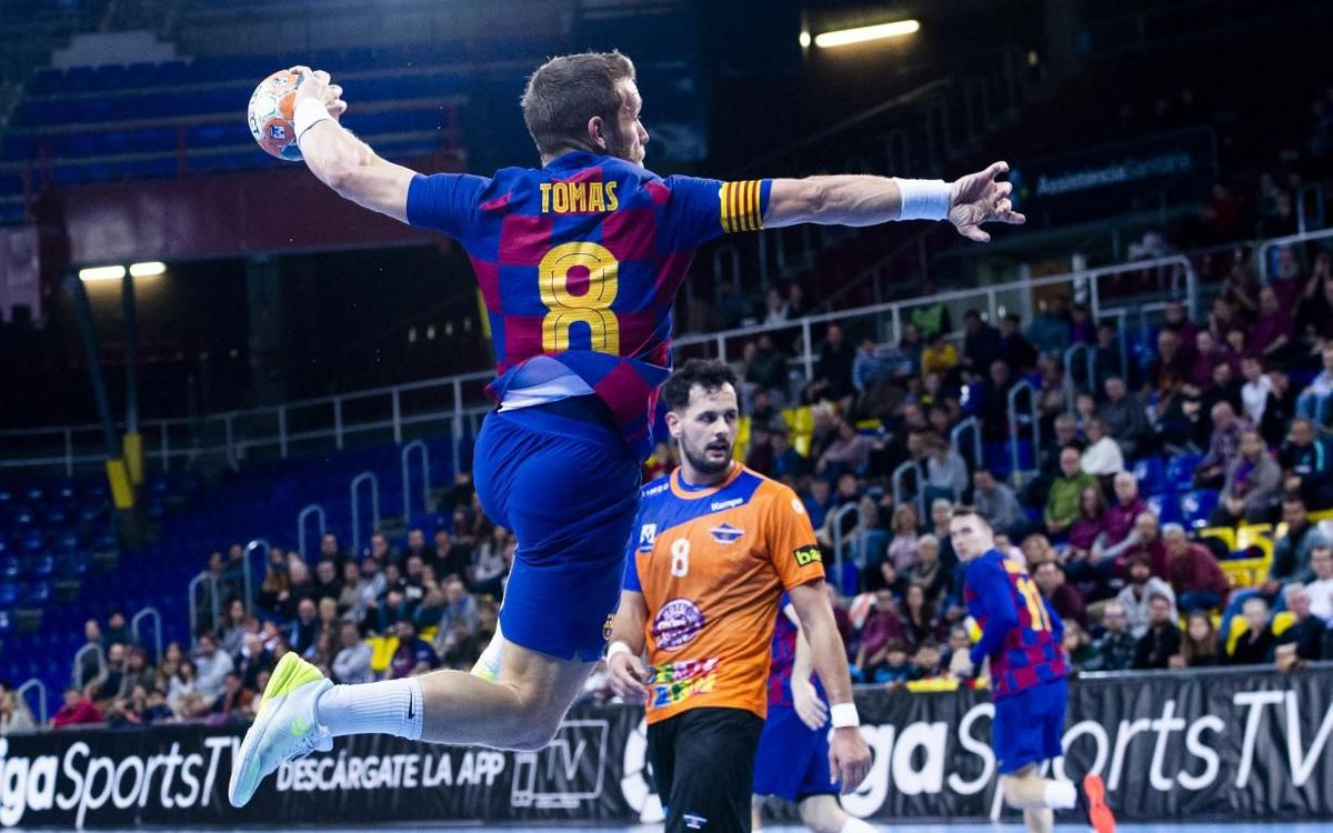 FC Barcelona 42-25 BM Benidorm: Rounding off the year with a great win