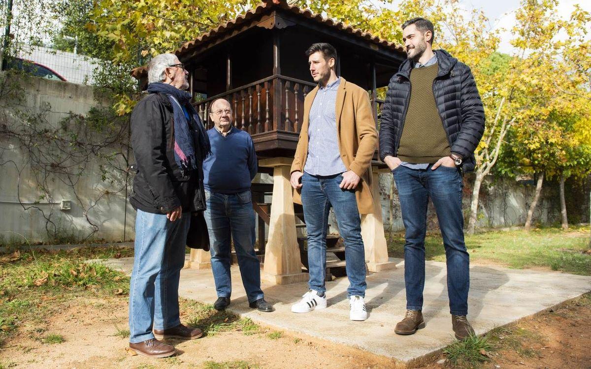 Encuentro de Entrerríos y Serdio en el Centro Asturiano