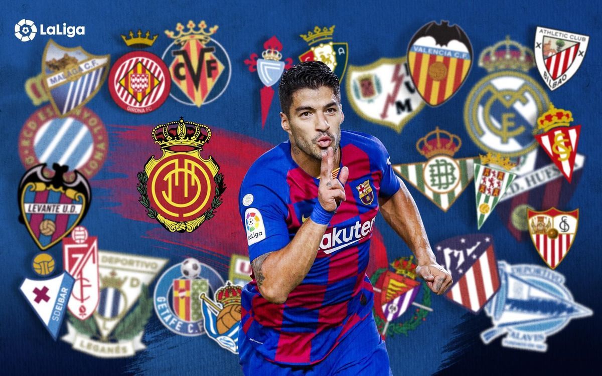 Mallorca the latest on the list for goalscorer Suárez