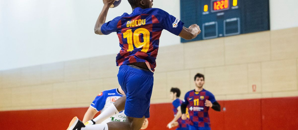 Barça B – Club Cisne Colegio Los Sauces (33-34): La sort no acompanya