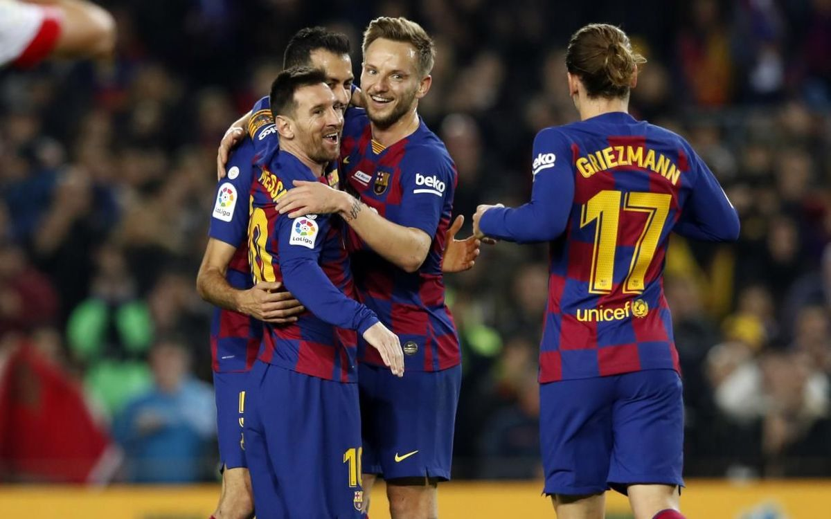 FC Barcelona 5-2 Mallorca: Golden football