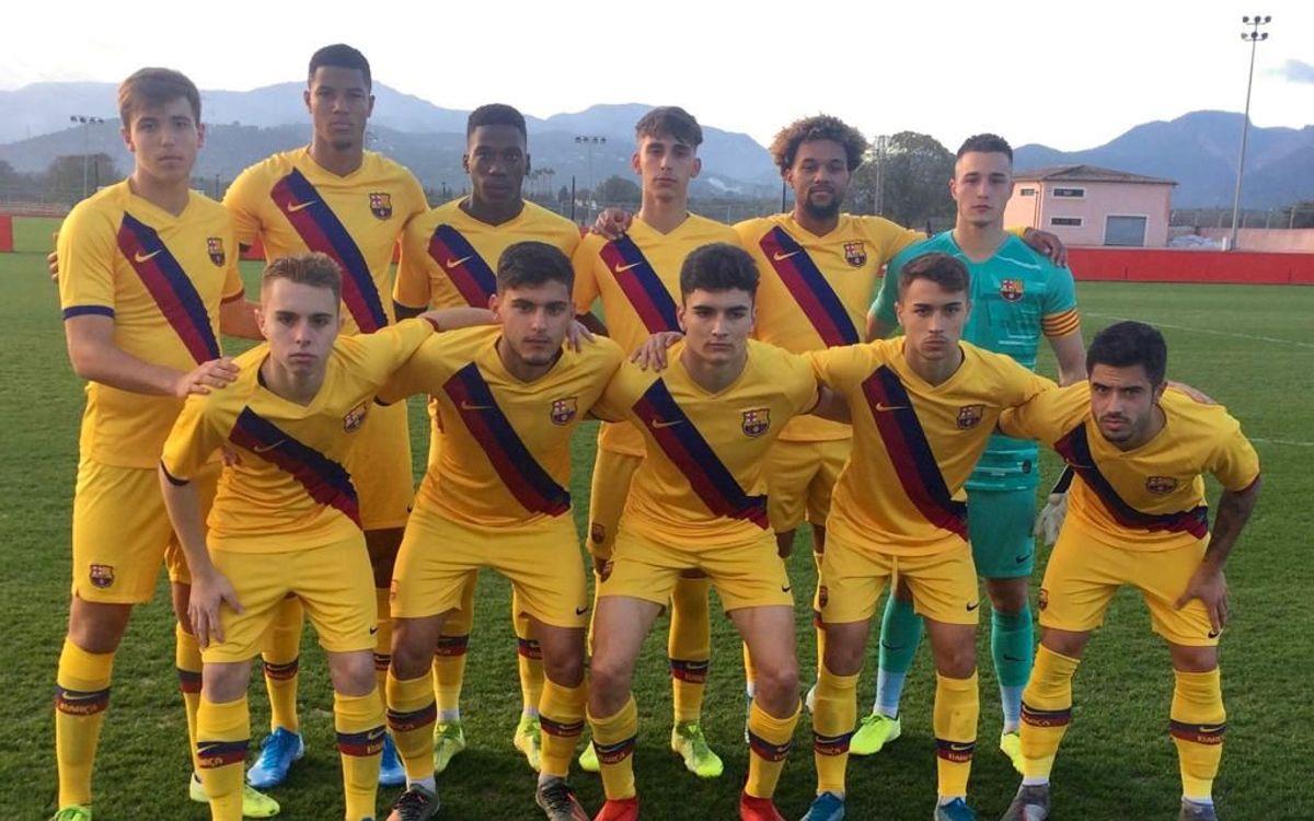 Mallorca - Juvenil A: Victoria de prestigio (0-3)