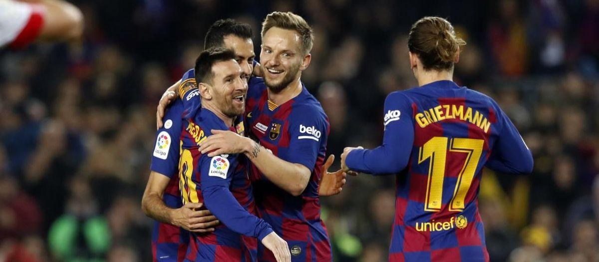 FC Barcelona - Mallorca: Recital d'Or (5-2)