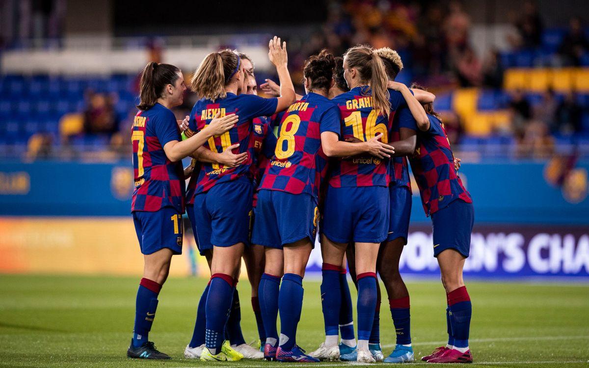 Barça Femenino - Real Betis (previa): Que siga la fiesta en el 'Johan'