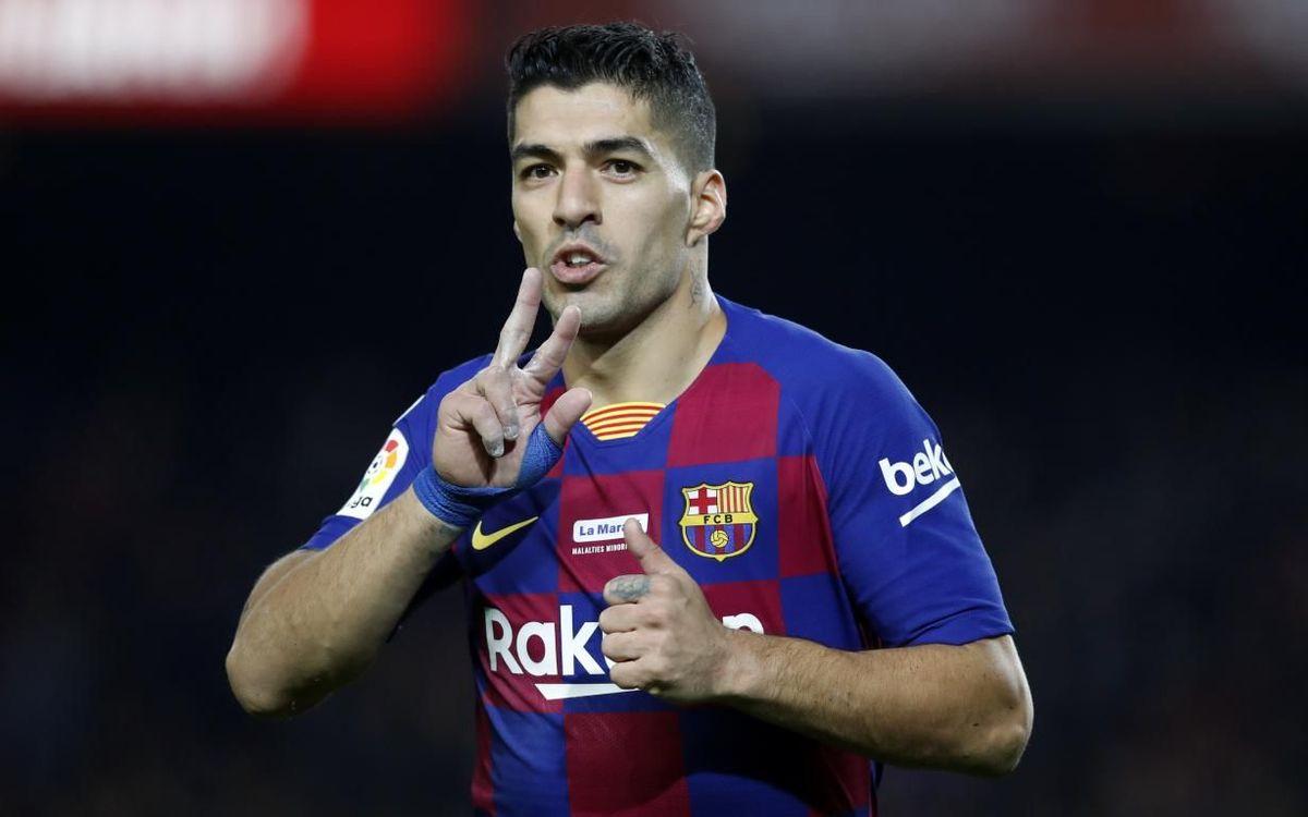What place in Barça's history does Suárez's goal deserve?