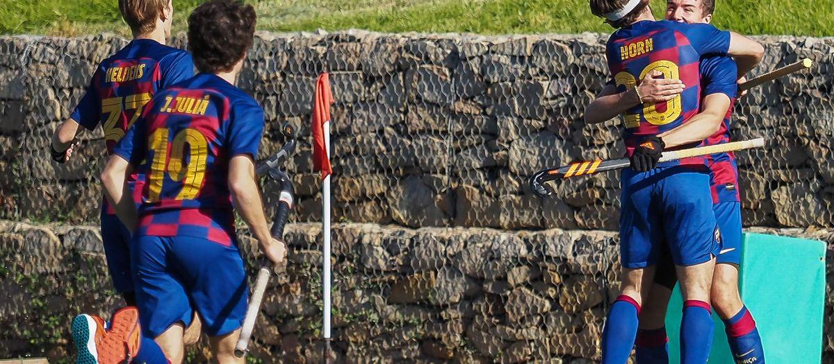 El Barça Hockey Herba es desfoga amb el Tennis