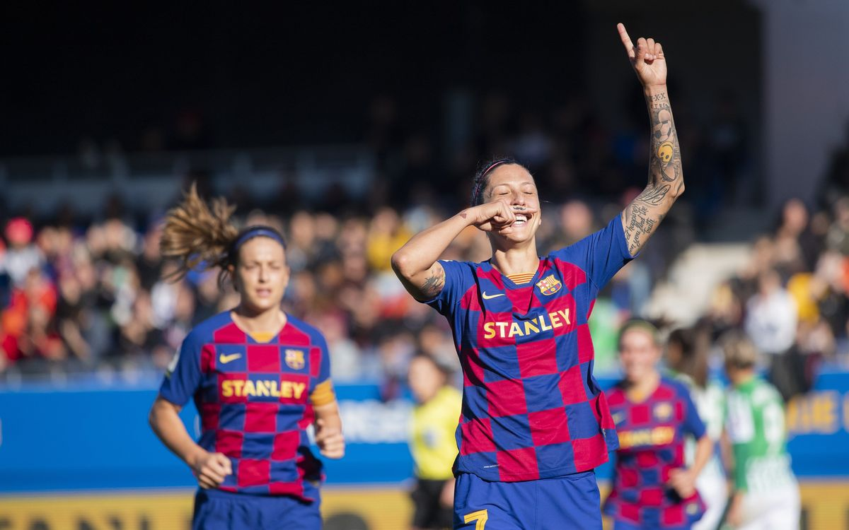 Barça Women 3-0 Betis: Tenth win in the League