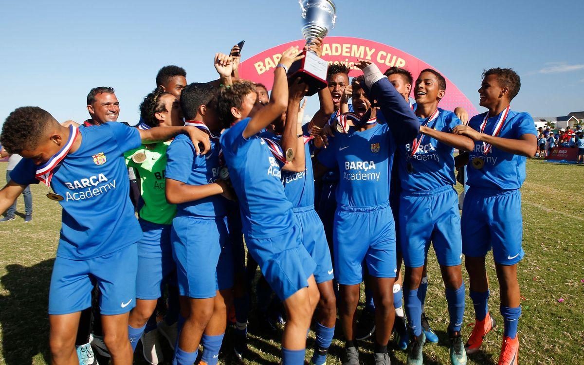 Presentada la Barça Academy Cup Las Américas más grande de la historia con 600 deportistas
