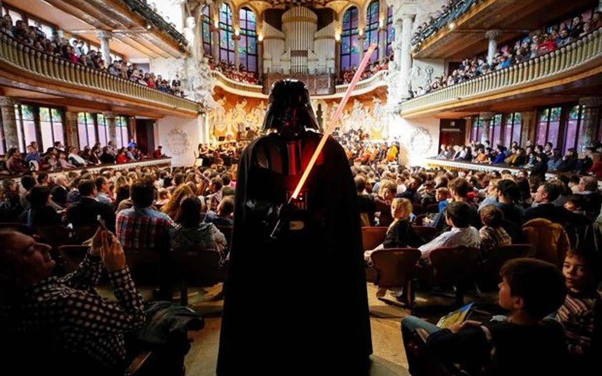 Atractius descomptes per als concerts dedicats a la música de Star Wars