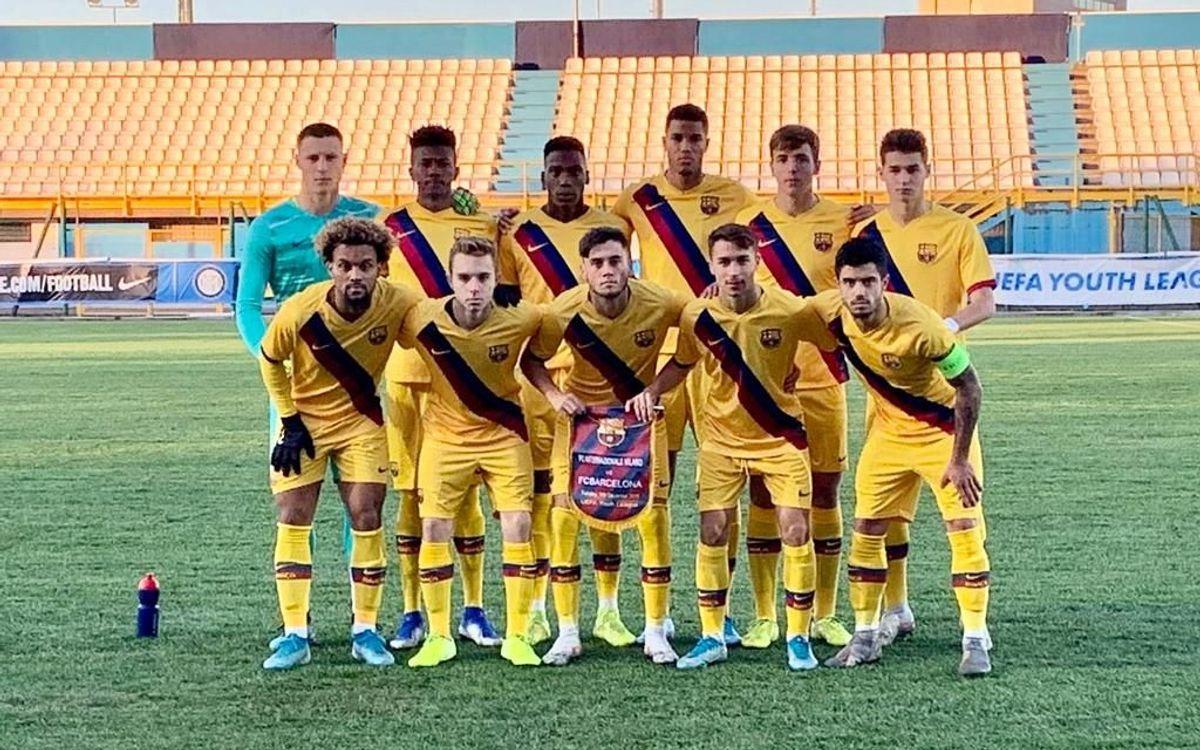 Inter de Milà-Juvenil A: Ensopegada a Milà per tancar la Youth League (2-0)