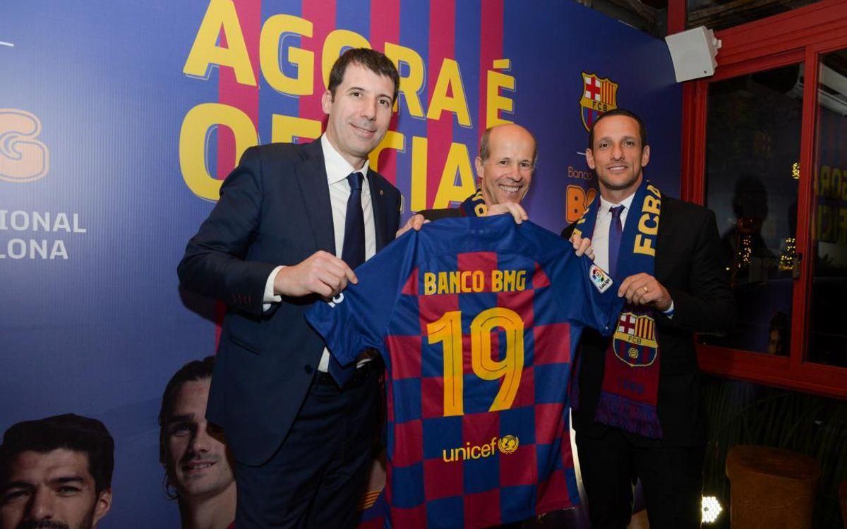 El Barça incorpora Banco BMG com a nou patrocinador al Brasil