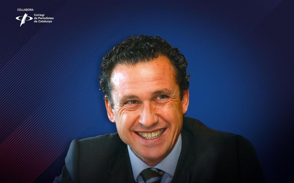 Jorge Valdano, ganador del Premio Vázquez Montalbán