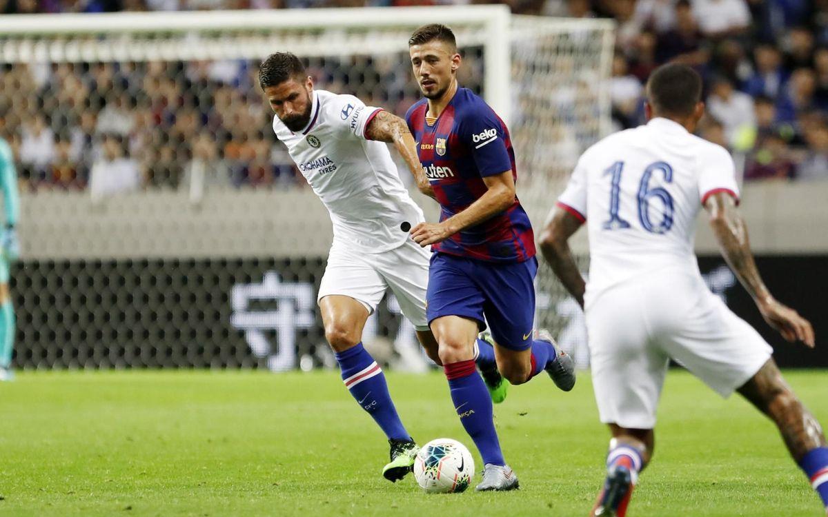 Blaugranes i 'blues' també es van enfrontar en la gira d'aquest estiu