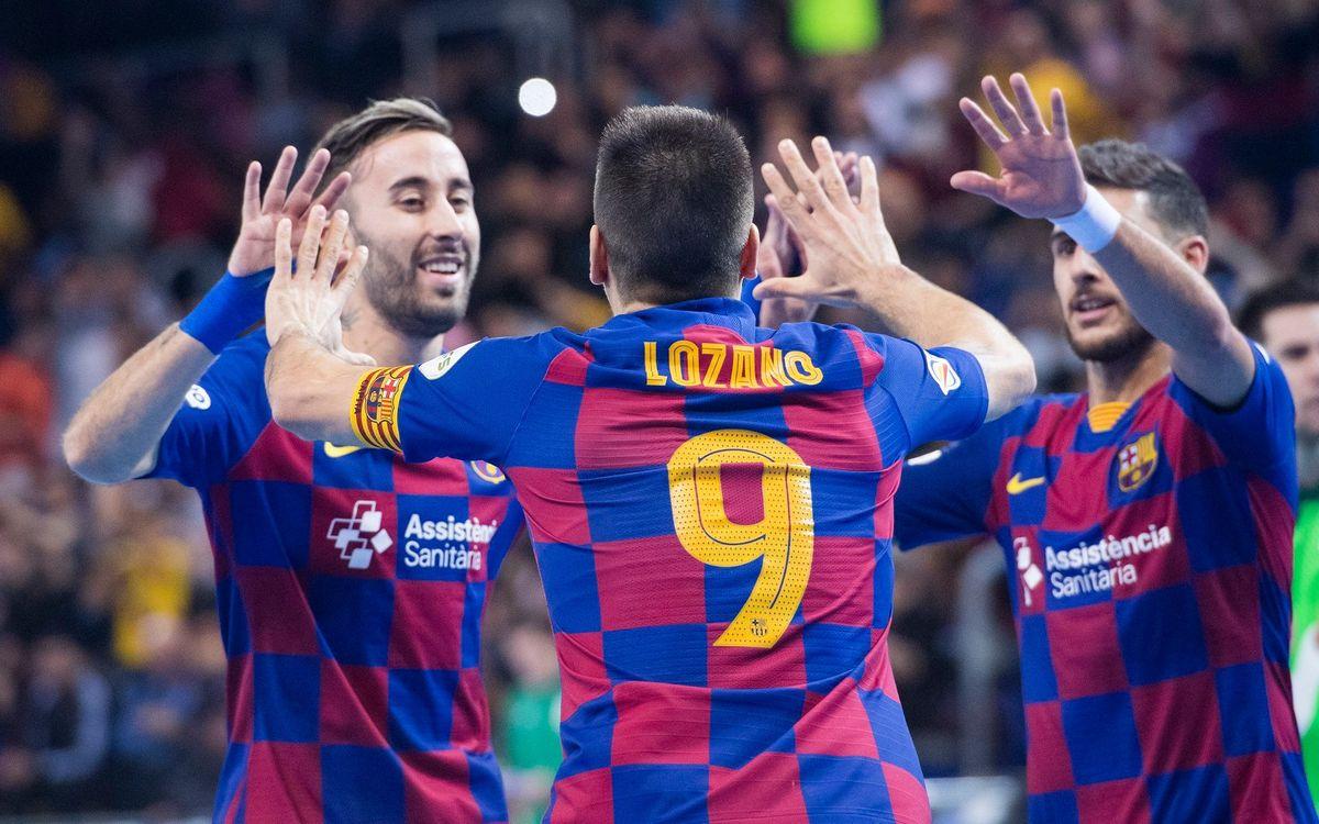 El Barça visita l'equip revelació