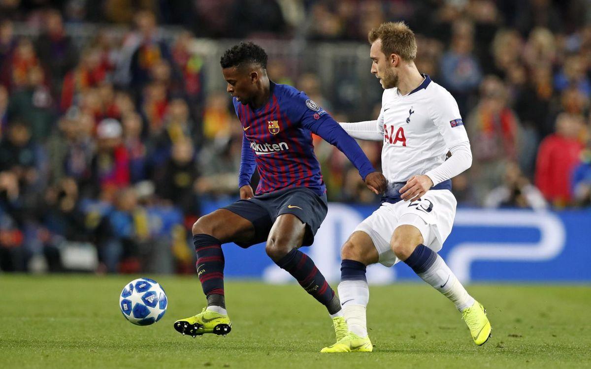 Barça y Tottenham ya se cruzaron en la fase de grupos de la Champions 2018/19