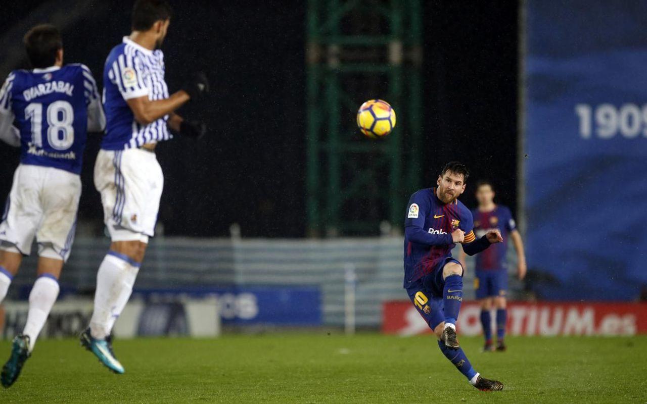 Top 10 Barca Goals At Anoeta