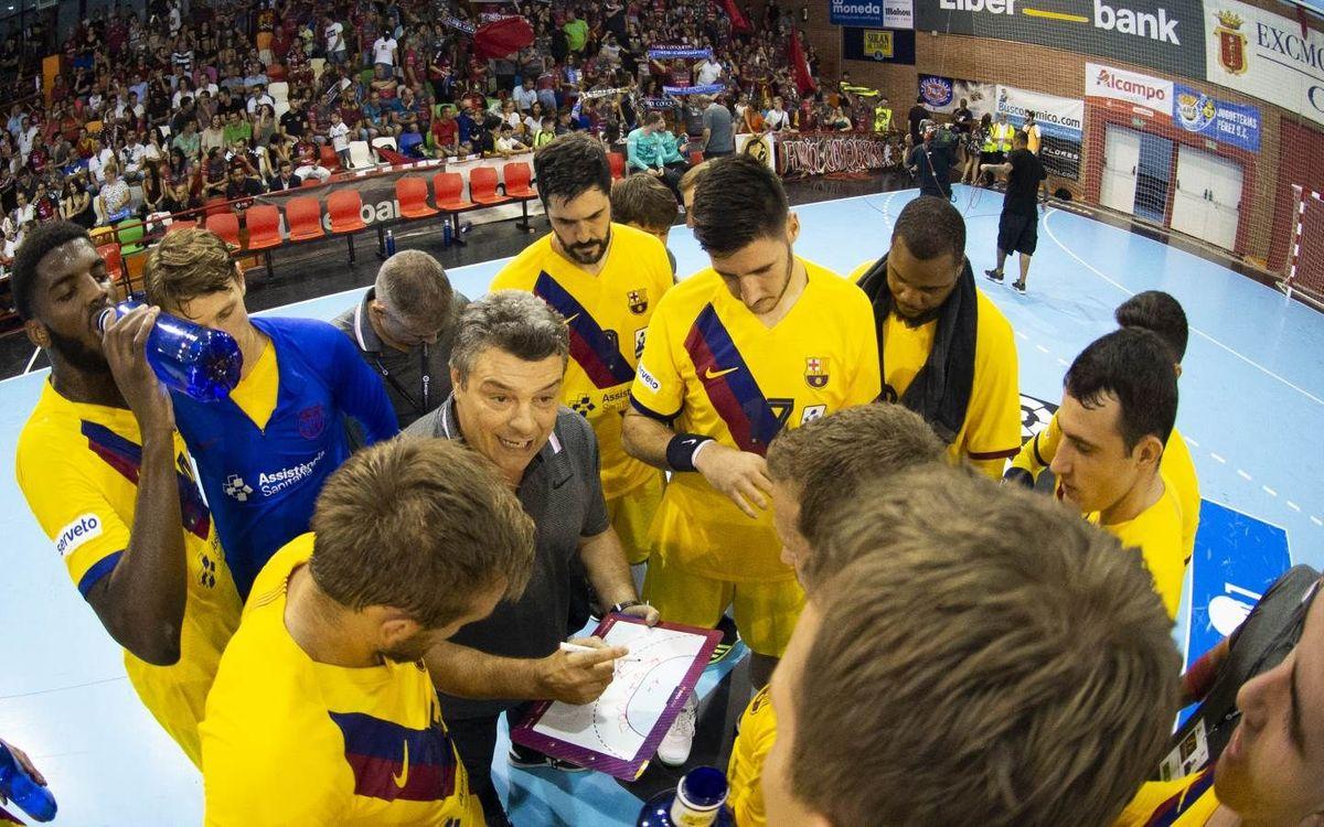 Barça – Abanca Ademar León: Un últim esforç a Valladolid