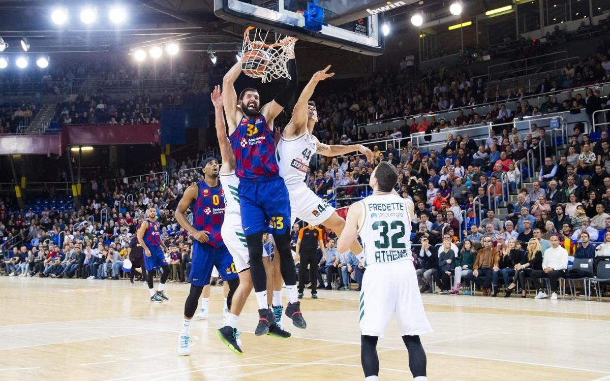 FC Barcelona 98-86 Panathinaikos: 'Show-time' at the Palau