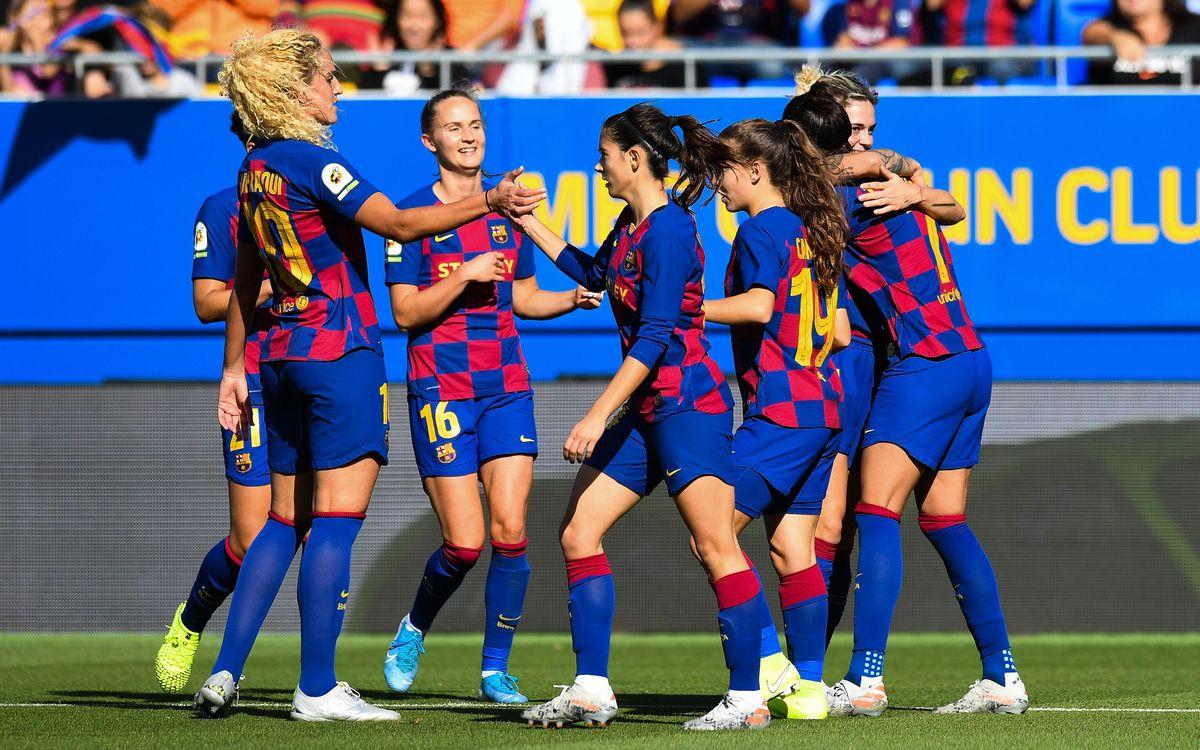 El Barça será uno de los cuatro participantes de la nueva Supercopa femenina