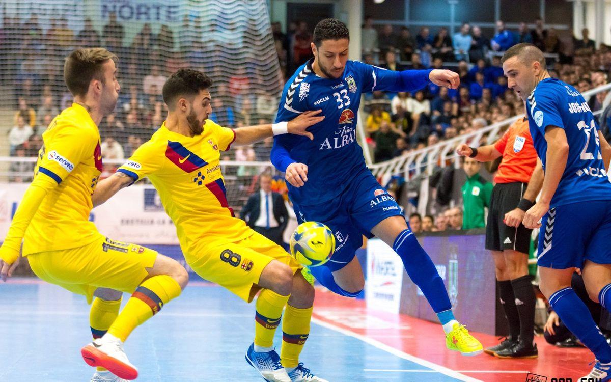 Valdepeñas - Barça: Áspera derrota (4-3)