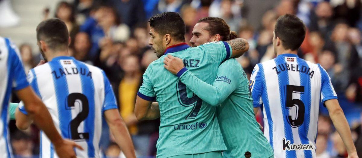 Real Sociedad – FC Barcelona: Empate antes del Clásico (2-2)
