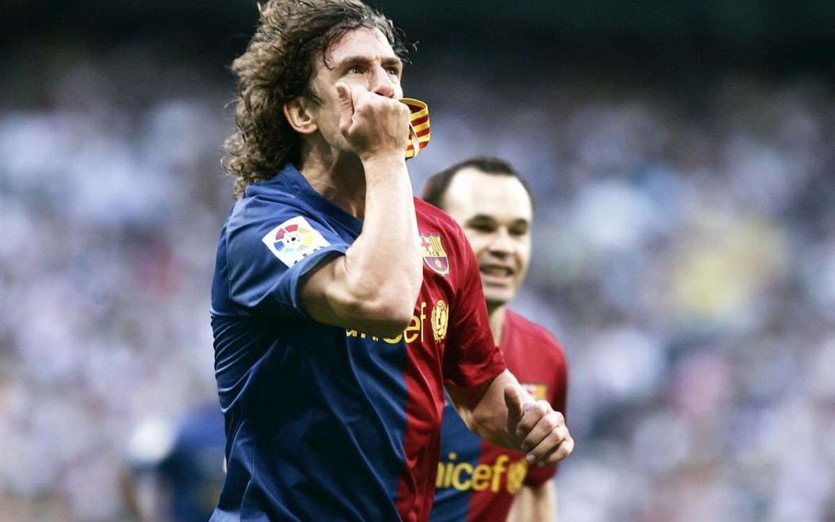Puyol on the day Barça hit six at the Bernabéu
