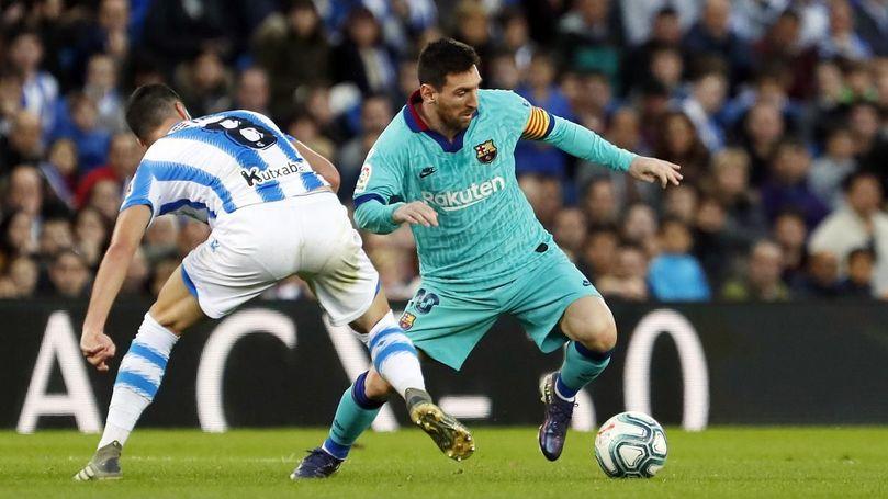 Video thumbnail for Highlights Reial Societat - Barça (2-2) J17 1a Divisió 2019/2020