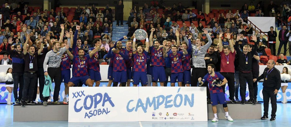 ¡Novena Copa Asobal consecutiva!