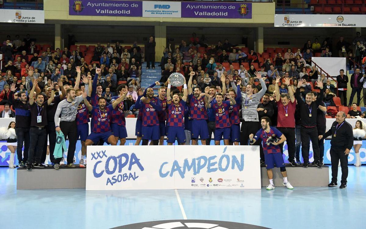 Novena Copa Asobal consecutiva!
