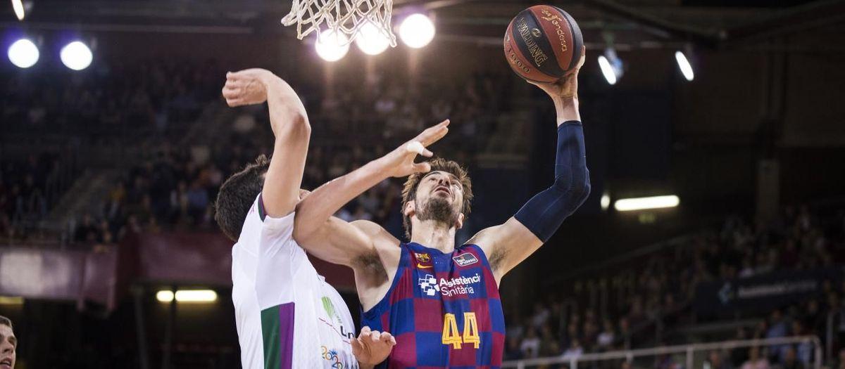 Barça  - Unicaja: Primera derrota al Palau a la Lliga (95-105)