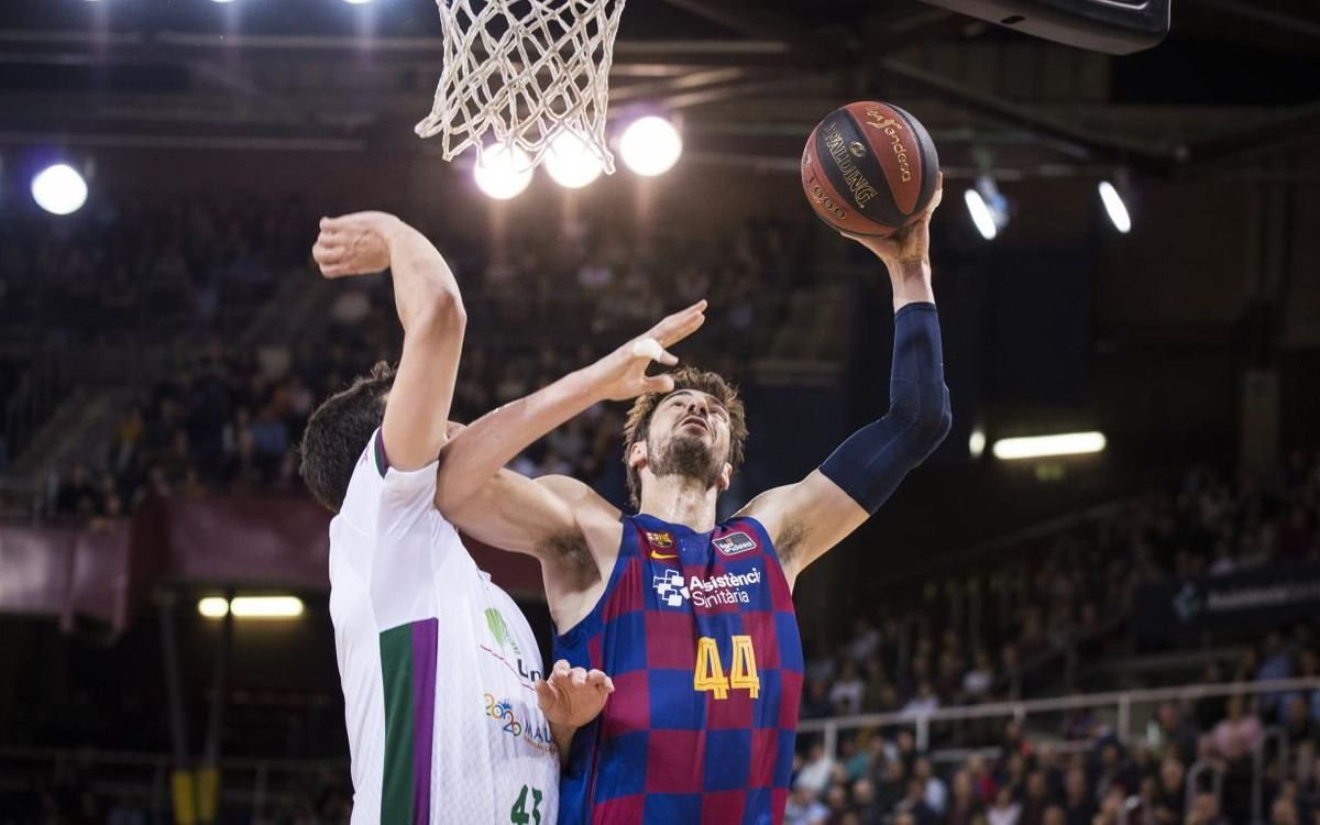 Barça  95-105 Unicaja: First league loss at the Palau