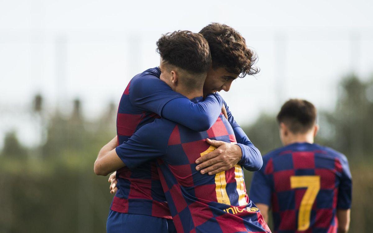 El Juvenil B pren el liderat al Girona