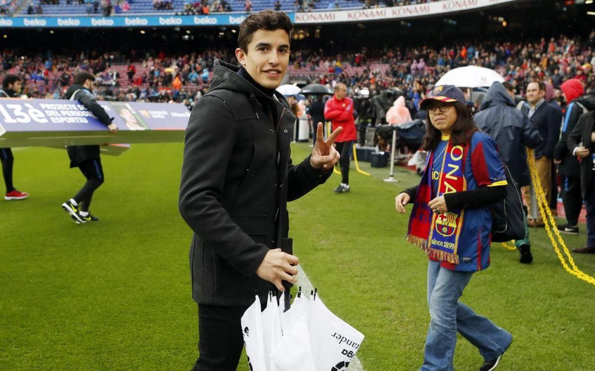 Marc Márquez to make Clásico pre-kick off appearance
