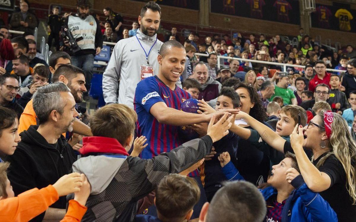 El 2 de enero, entrenamiento de puertas abiertas y Fiesta del Futsal