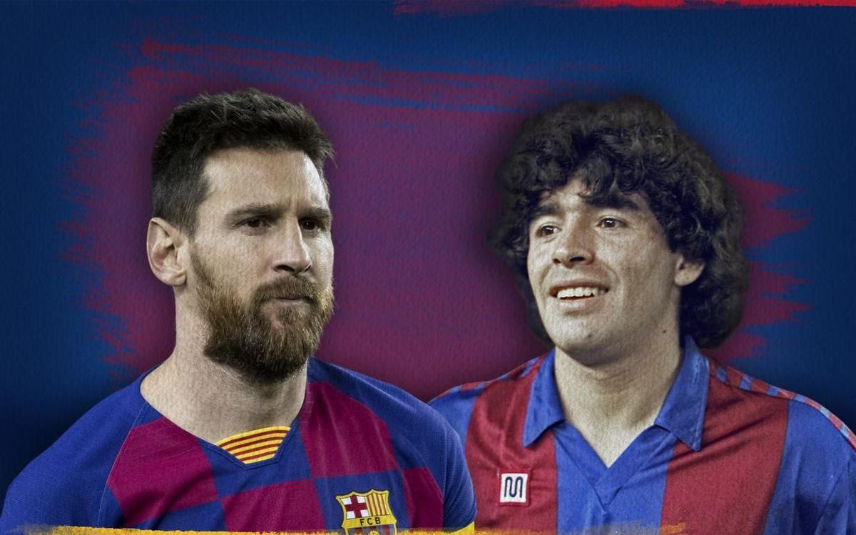 Messi-Maradona : La magie argentine au Camp Nou