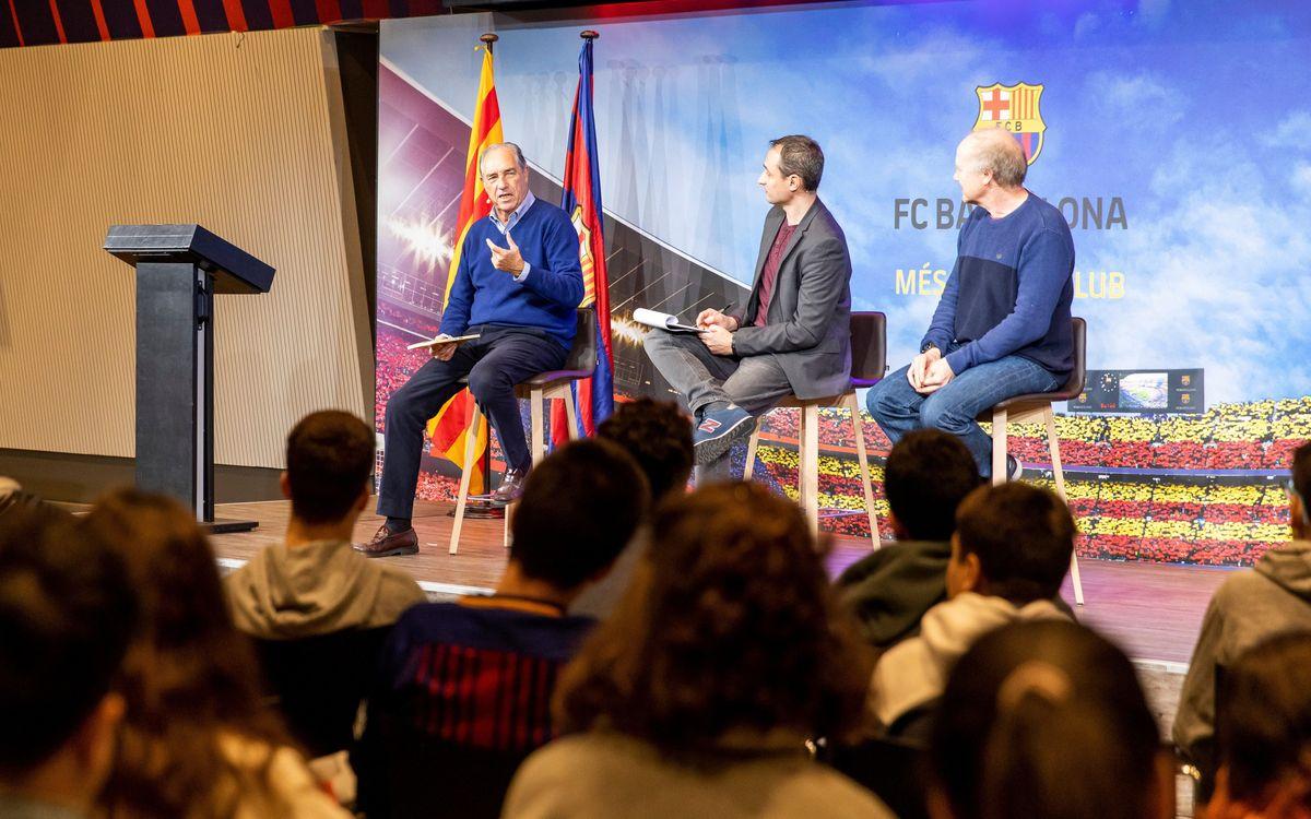 Lectures a l'estadi Eduard Juan