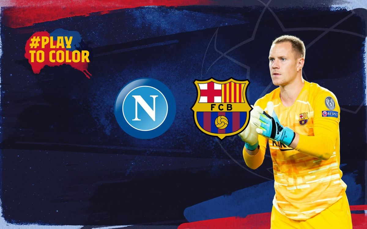 FC Barcelona to face Napoli in the last 16
