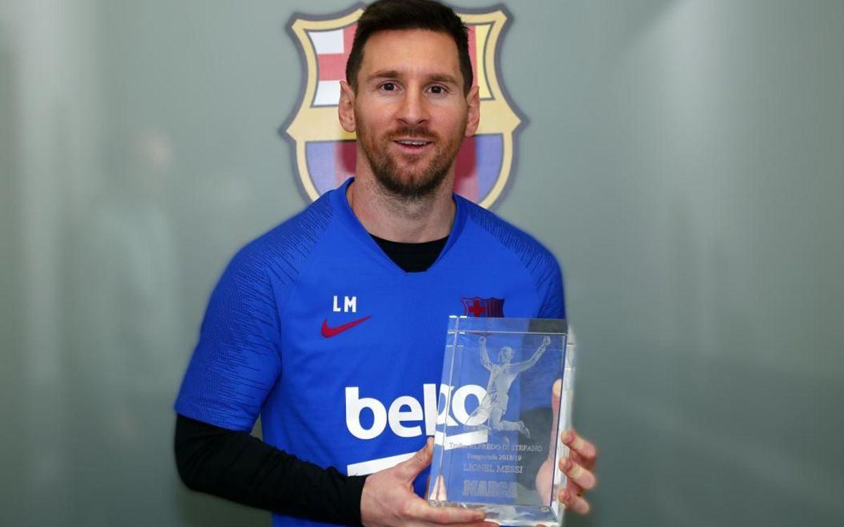 Leo Messi - Alfredo Di Stéfano