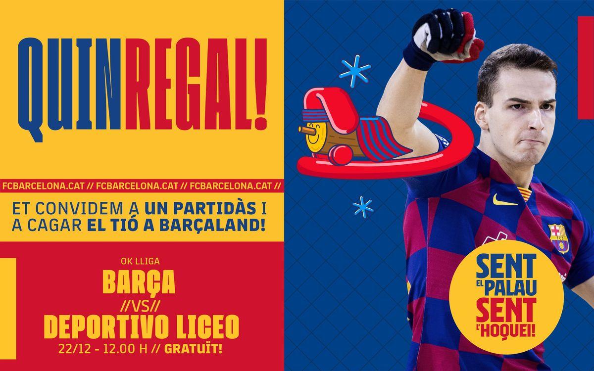 ¡Barça – Liceo: ven a cagar